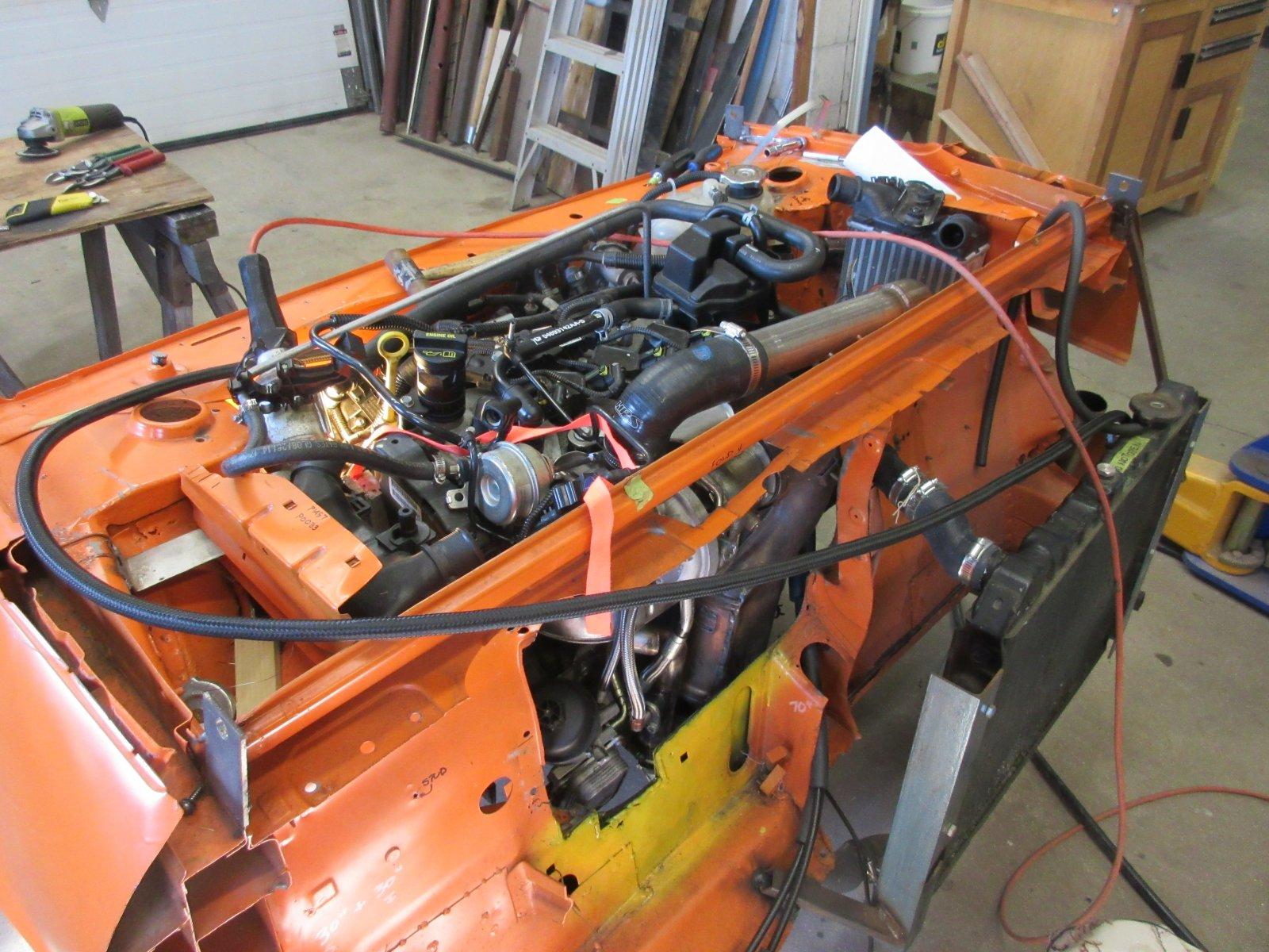 fiat x19 engine swap
