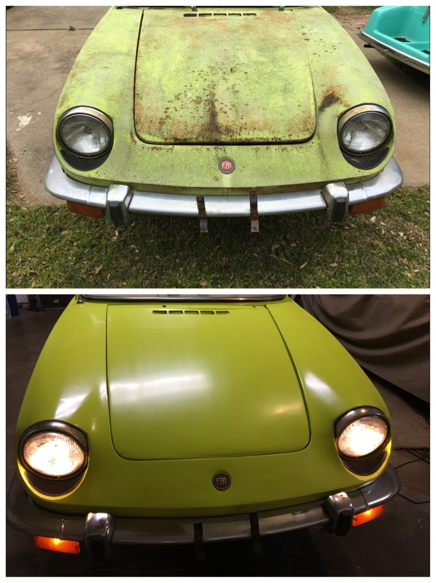 Rusted Out 1970 850 Spider Fix
